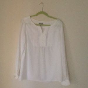 White gap blouse new with tags